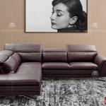 Sofa da mã 122-2