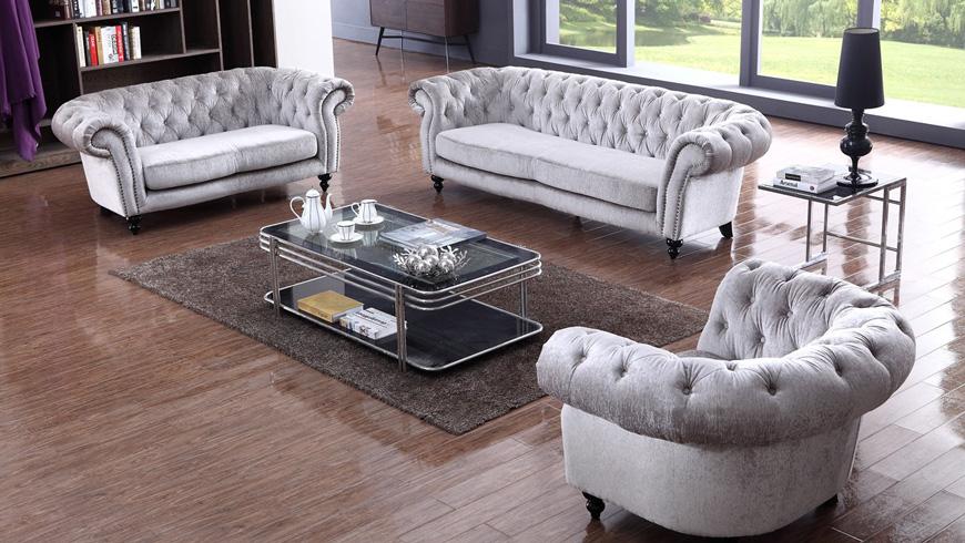 Mẫu sofa nỉ phòng khách đẹp 4
