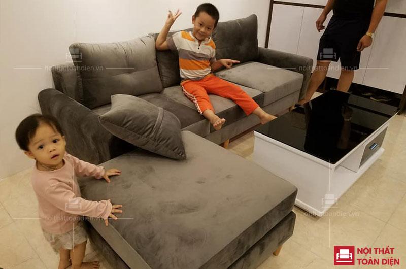xưởng sản xuất ghế sofa da phòng khách giá rẻ tại hà nội