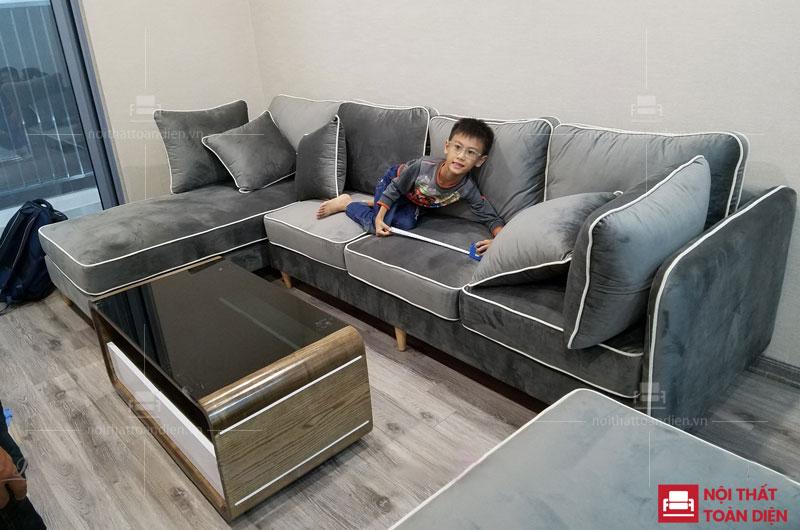 Bộ ghế sofa phòng khách hiện đại giá rẻ tại hà nội
