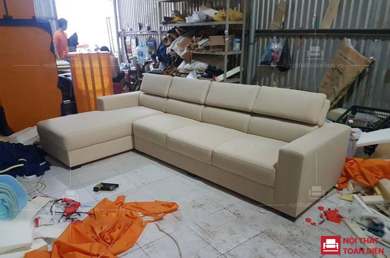bộ ghế sofa bằng nỉ cho chung cư hiện đại 1