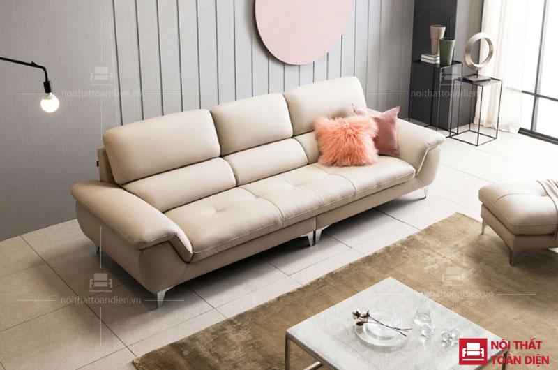 bộ ghế sofa văng cho phòng khách chung cư nhỏ giá rẻ sofa văng da mã 108