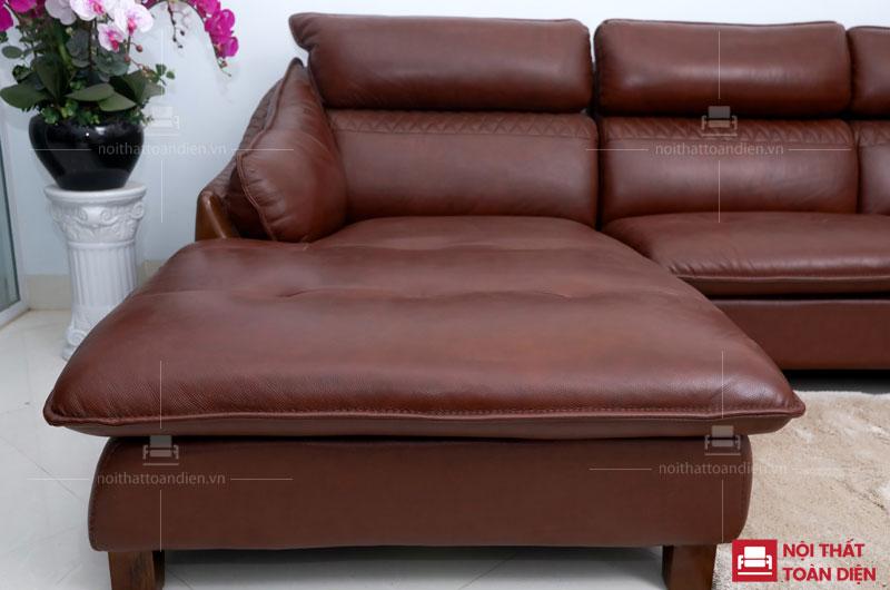 mẫu ghế sofa da phòng khách - sofa da bò cao cấp 2