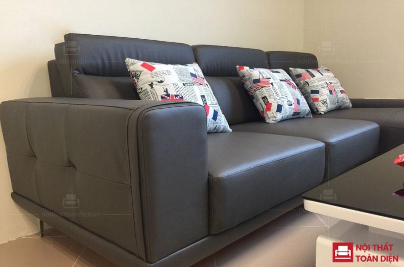 ghế sofa phòng khách đẹp mã 150 sofa da đẹp