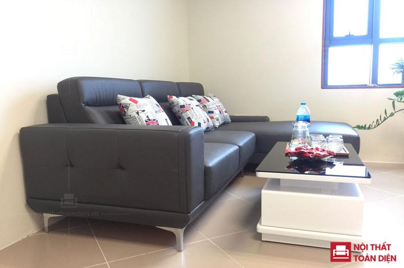 ghế sofa phòng khách đẹp mã 150 sofa góc da đẹp