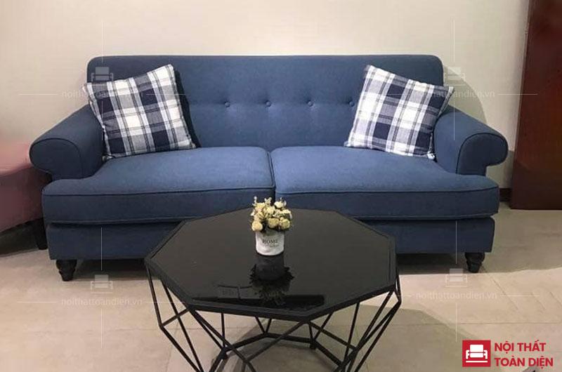 bộ ghế sofa văng nỉ 1m6 giá rẻ tại hà nội