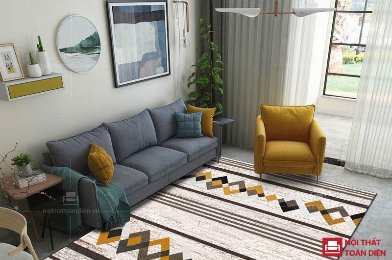 bộ ghế sofa văng nỉ đẹp giá rẻ cho phòng khách chung cư