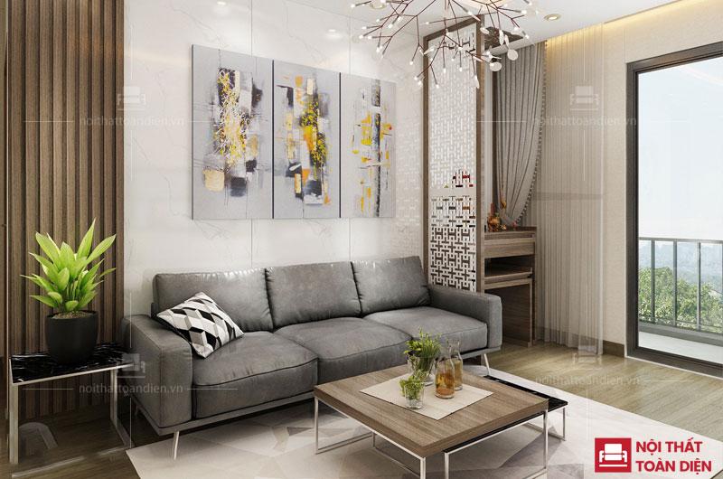 ghế sofa văng nỉ giá rẻ cho phòng khách chung cư